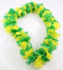 AUSSIE GREEN & GOLD LEIS PACK OF 12