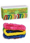HAWAIIAN LEIS - SOFT TWIST PLASTIC LEIS BULK PACK 50
