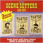 SCENE SETTER ADD ON - WANTED POSTERS