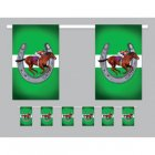 MELBOURNE CUP HORSE RACING FLAG BUNTING