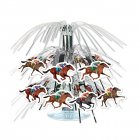 HORSE RACING MINI CASCADE TABLE CENTREPIECE