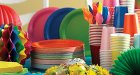 Colour Themed Party Supplies