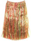 HAWAIIAN HULA SKIRT LONG - MULTI COLOURED SKIRT