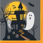 HAUNTED HALLOWEEN LUNCH NAPKINS - PACK 16 - 5 Left Only!