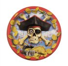 PIRATE BOUNTY SNACK PLATES - PACK OF 8 - sold out
