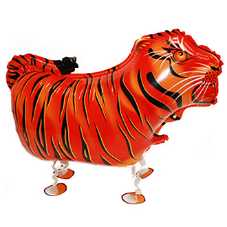 WALKING PET BALLOON - RAJAH THE TIGER 51CM