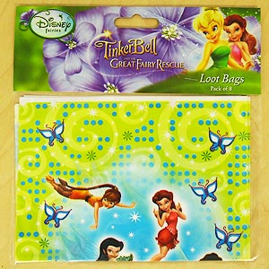 DISNEY TINKERBELL FAIRY LOOT BAGS - 2 LEFT ONLY