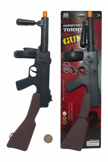 TOMMY GUN FOR GANGSTERS - PLASTIC