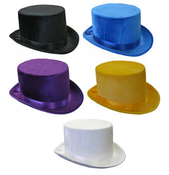 TOP HAT VELVET IN A VARIETY OF COLOURS