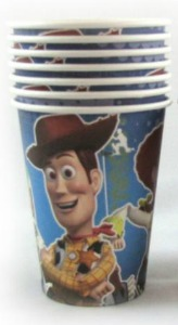 TOY STORY 3 PARTY CUPS