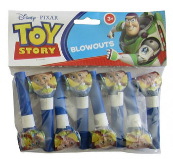 TOY STORY 3 PARTY BLOWOUTS