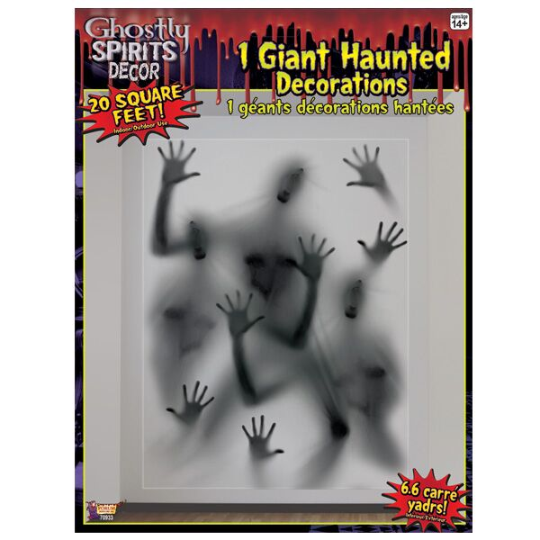 SCENE SETTER - GHOSTLY SPIRITS JUMBO WALL DECO