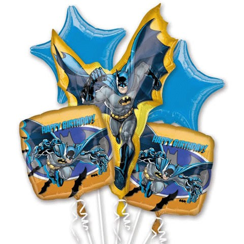 FOIL BALLOON BOUQUET - BATMAN