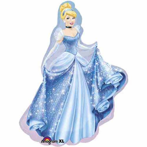 FOIL SUPERSHAPE BALLOON - DISNEY PRINCESS CINDERELLA