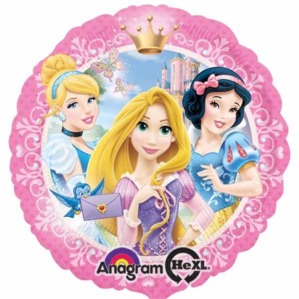 FOIL BALLOON - DISNEY PRINCESS 45CM