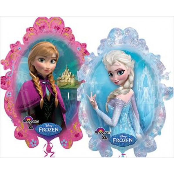 FOIL SUPER SHAPE BALLOON - DISNEY FROZEN ELSA & ANNA