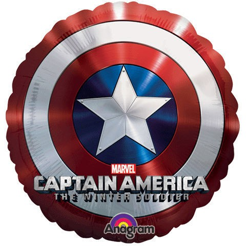 FOIL SUPER SHAPE BALLOON - CAPTAIN AMERICA JUMBO SIZE