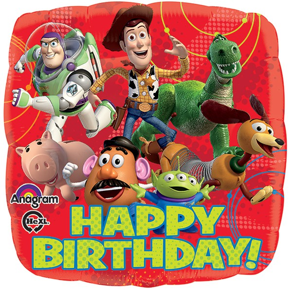 FOIL BALLOON - TOY STORY 'HAPPY BIRTHDAY'