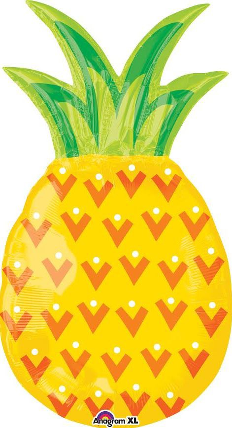 FOIL SUPER SHAPE BALLOON - PINEAPPLE