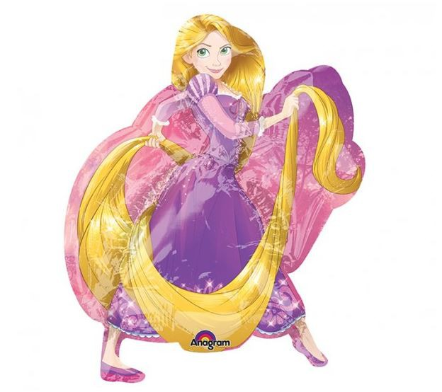 FOIL SUPER SHAPE BALLOON - RAPUNZEL