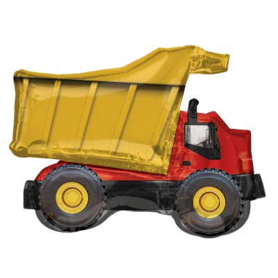 FOIL SUPER SHAPE BALLOON - DUMP TRUCK