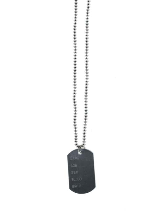 ARMY DOG TAG - ENGRAVABLE