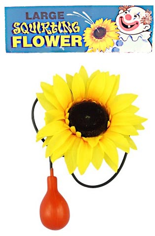 CLOWN LARGE SQUIRTING SUNFLOWER