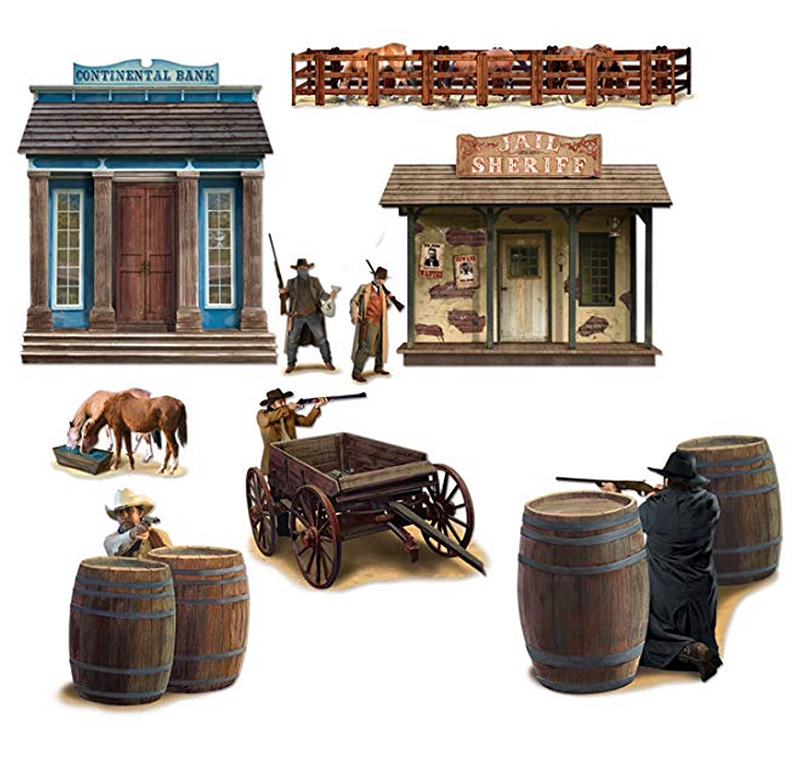 INSTA THEME - WILD WEST CHARACTER PROPS