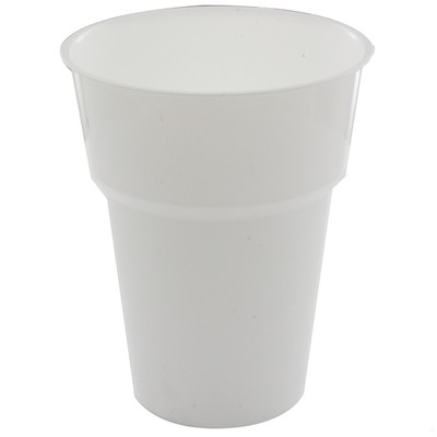 DISPOSABLE CUPS - WHITE PACK 25