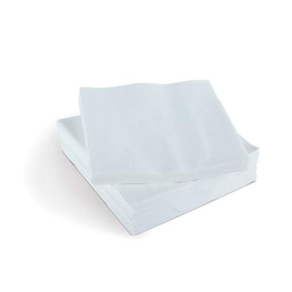 NAPKINS - WHITE LUNCH - 2 PLY PACK 50