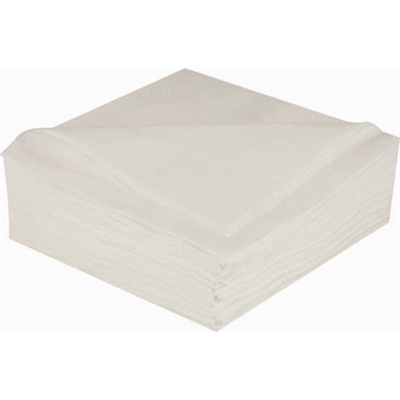 LUNCH NAPKINS WHITE - 2 PLY PACK 100