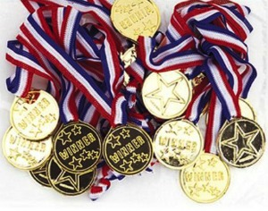 WINNERS MEDALS - PACK OF 12
